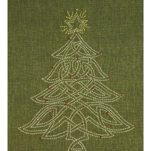 Celtic Sashiko Christmas Tree