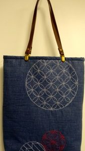 Sashiko Summer Tote Bag Kit