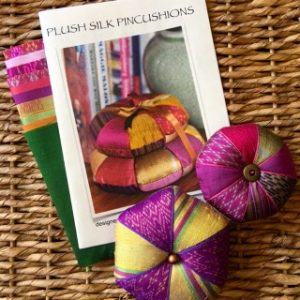 Plush Silk Pin Cushion Kit