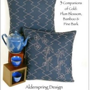 Sashiko Cushion Pattern - Three Companions of Cold