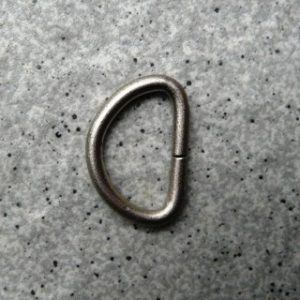D Ring Silver