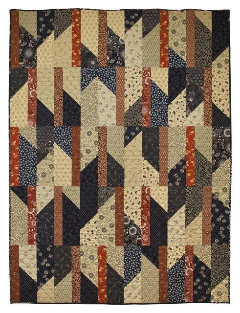 chop chop east quilt featuring japanese fabrics