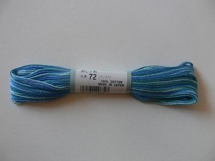 Sashiko Thread Olympus Variegated ST72