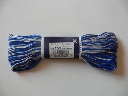 Sashiko Thread Olympus Variegated ST151