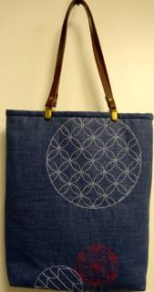 Sashiko Summer Tote Bag Kit