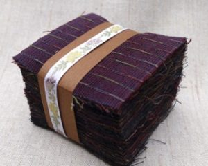 Yarn Dyed 7 cm square charm squares darks