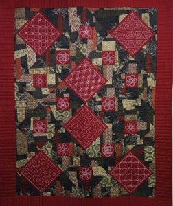 Point on Point Sashiko Quilt Kit