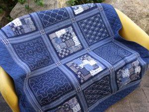 Boro and Sashiko Quilt Kit