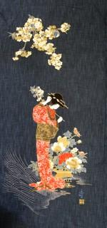 Noren Panel Geisha
