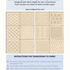 Sashiko Design Templates