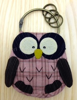 Owl-Guarding Love Purse