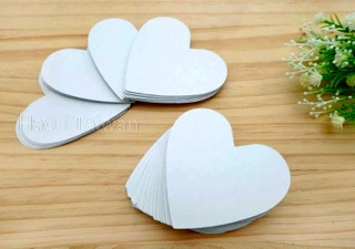 K046-S Heart Shaped Papers