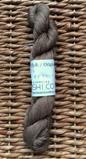Sashiko Thread Hand-dyed OCT2