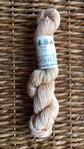 sashiko thread natural dyed tangala