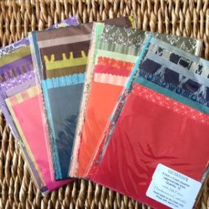 Quilters Pack of Silk Squares