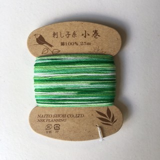 Sashiko Thread Variegated Naito Shoji Col 204