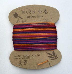 Sashiko Thread Variegated Naito Shoji Col 207