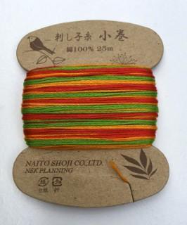 Sashiko Thread Variegated Naito Shoji Col 201