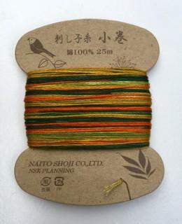 Sashiko Thread Variegated Naito Shoji Col 208