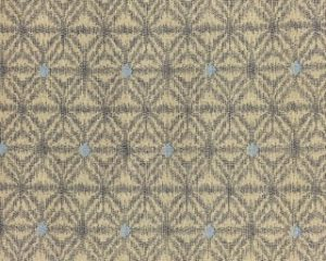 Japanese Hemp Print Fabric Muted Cream