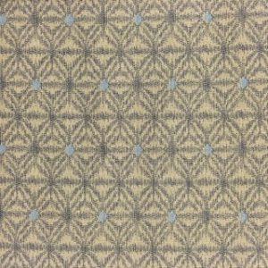 Japanese Hemp Print Fabric Muted Cream