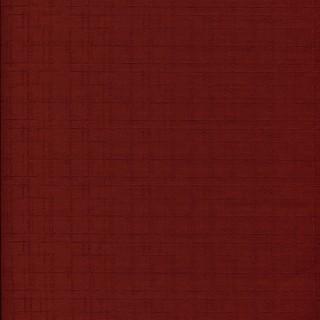 Plain Jane Red Dobby Weave