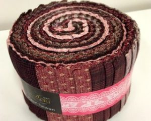 yarn dyed junior jelly roll pink