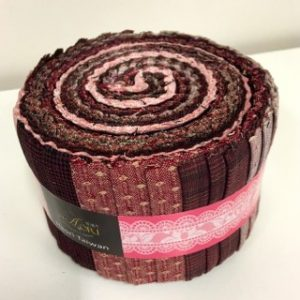 K051-2 Yarn Dyed Rolls  No 2  Pink JR