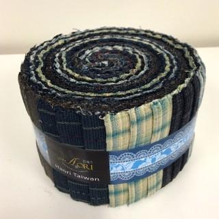 yarn dyed junior jelly roll in blue