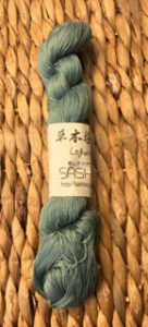 sashiko thread logwood dyed