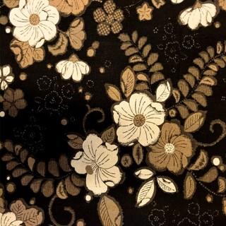 SB611.3 Black Floral