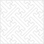 hishi sayagata sashiko design