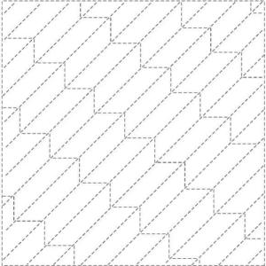 yabane sashiko pattern