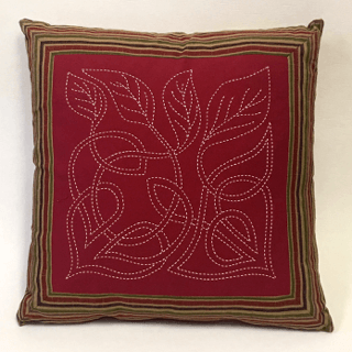 Sashiko Celtic Leaf Dawn
