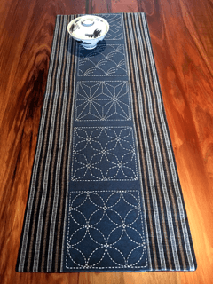 Sashiko Runner - Geo No. 1 Kit