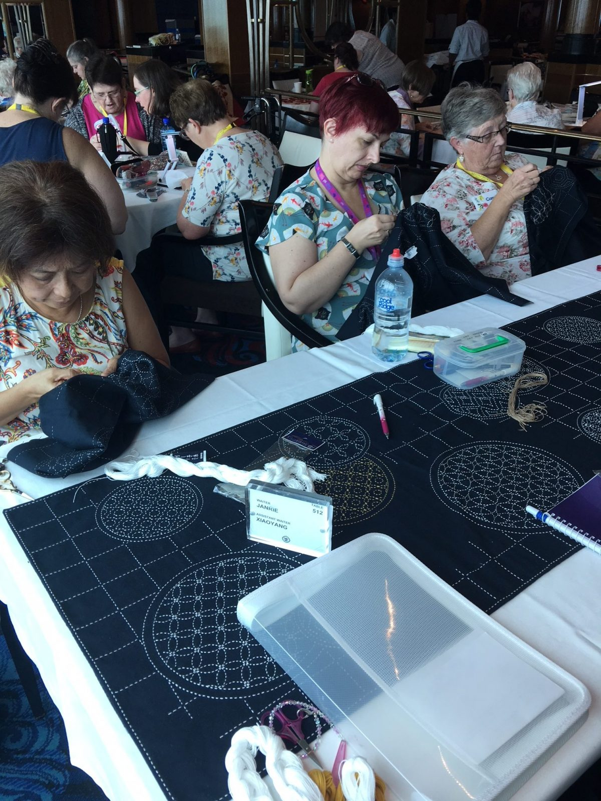 Indigo Niche sashiko workshop
