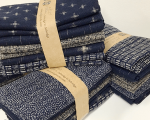 indigo fabric pack