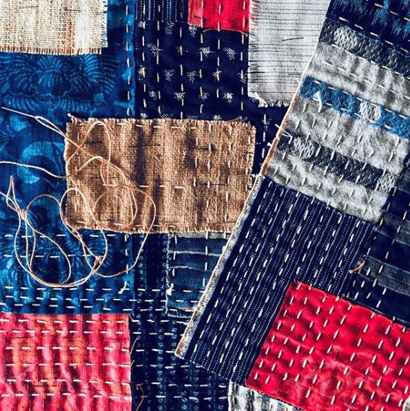 boro japanese textile