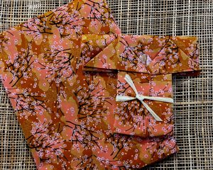 cherry blossom print fabric