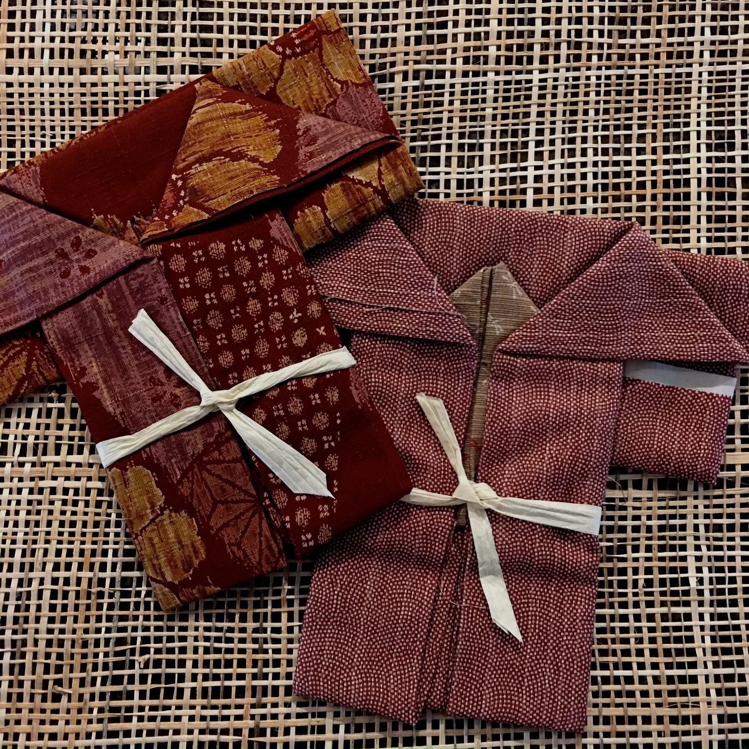kimono shaped fat quarter packs