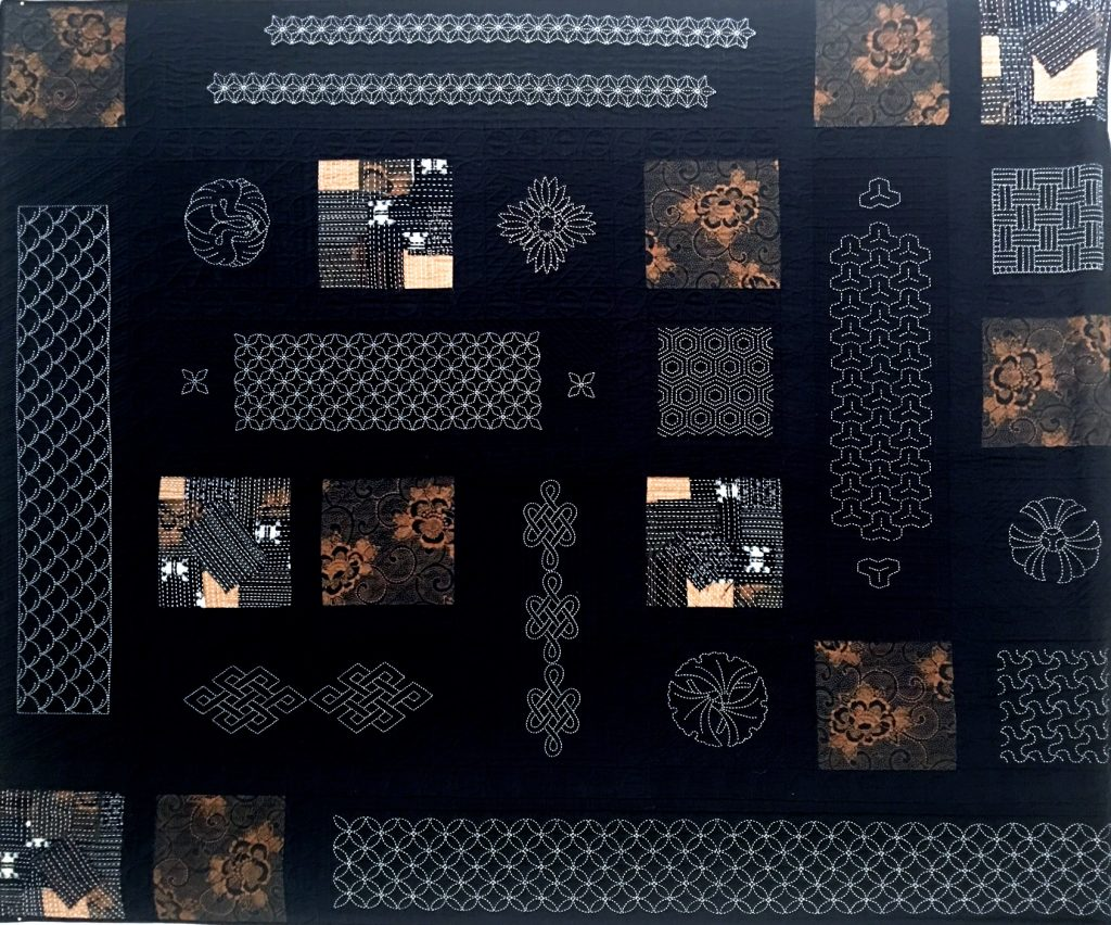 sashiko japanese quilt