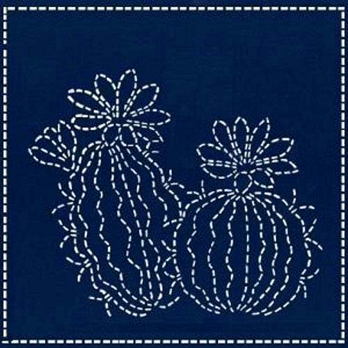 spring morning sashiko cactus
