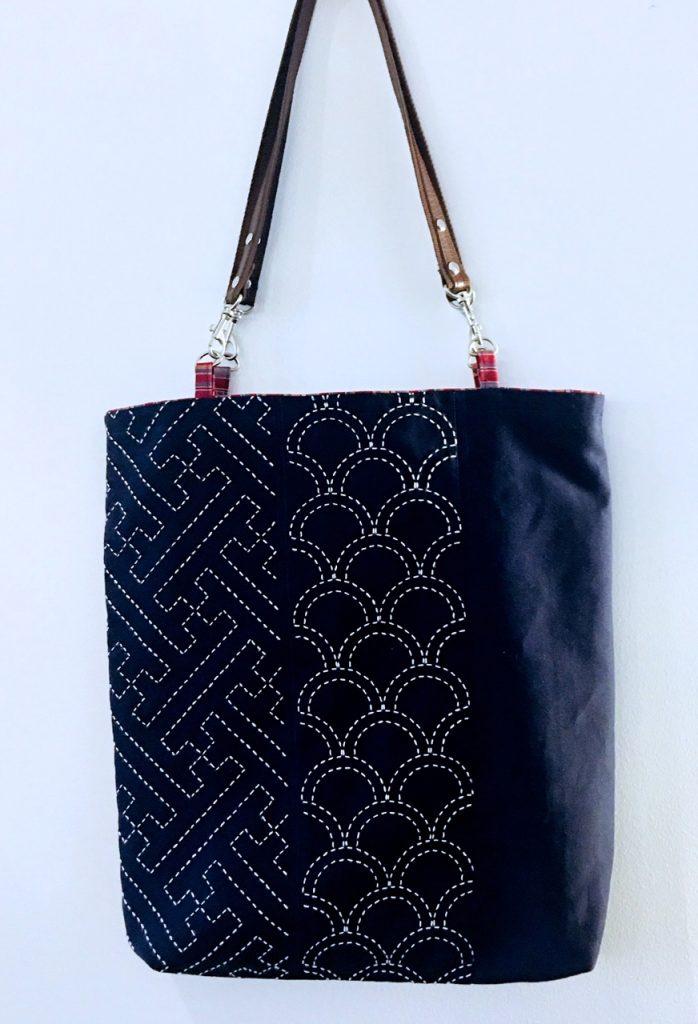 sashiko basics tote bag