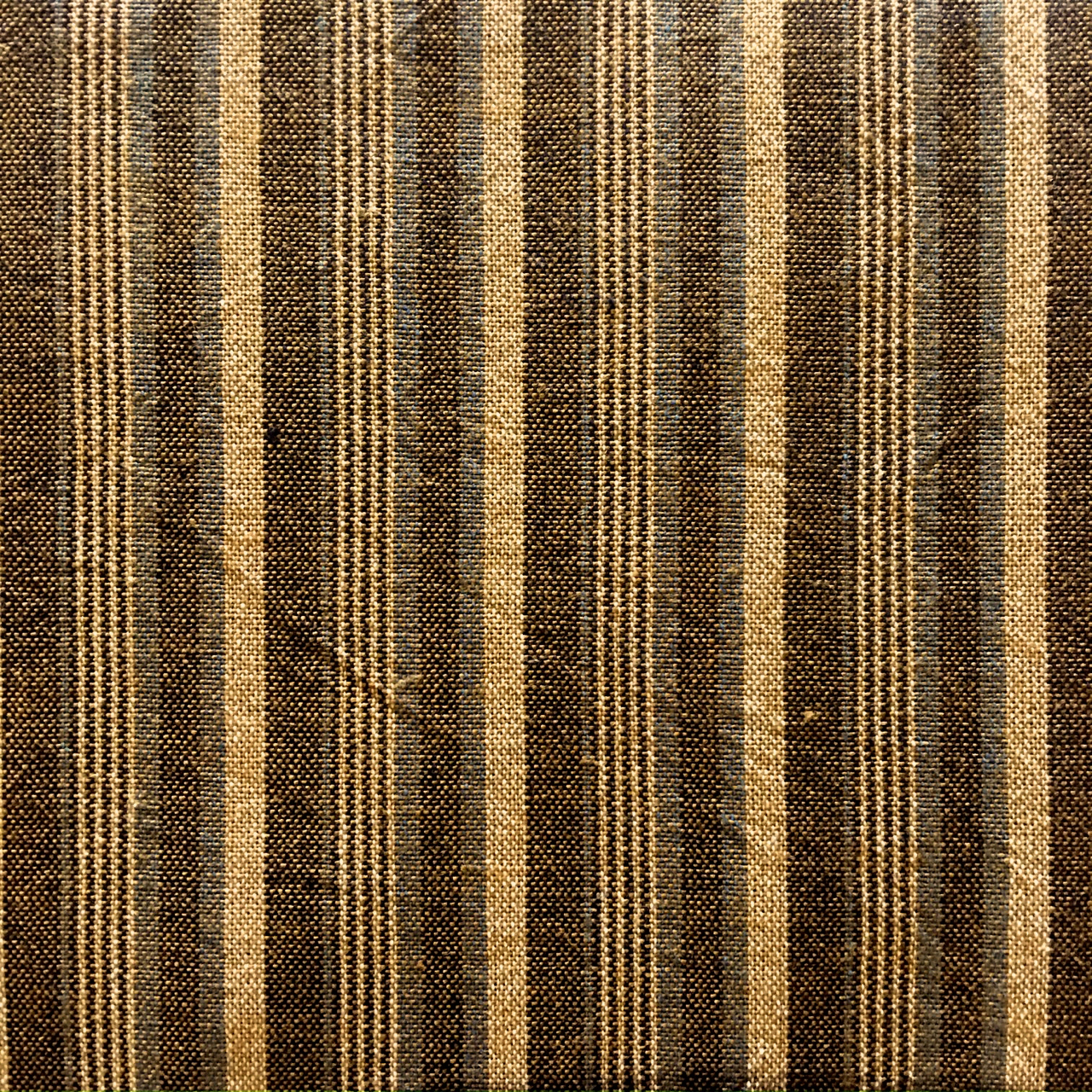 brown striped fabric