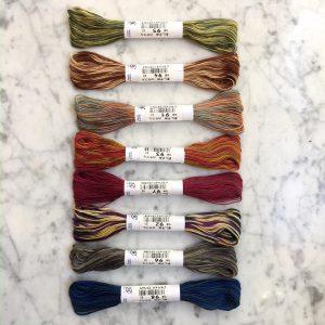 variegated sashiko thread