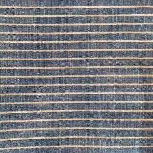 light blue striped yarn dyed fabric