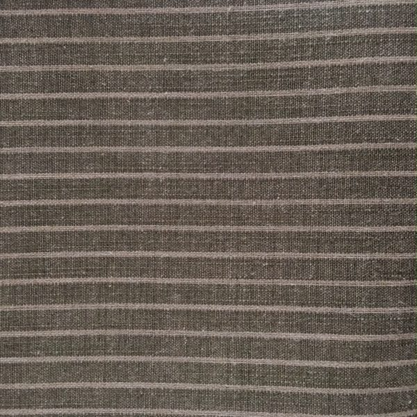 green striped yarn dyed fabric