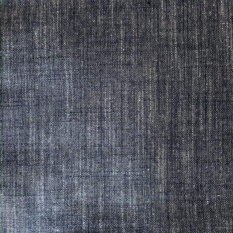 blue yarn dyed fabric