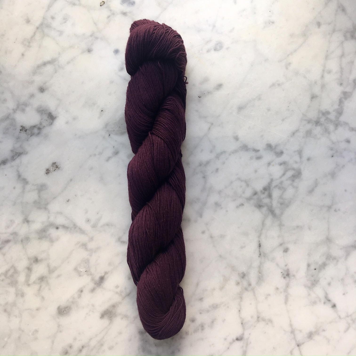 sashiko thread hida aubergine