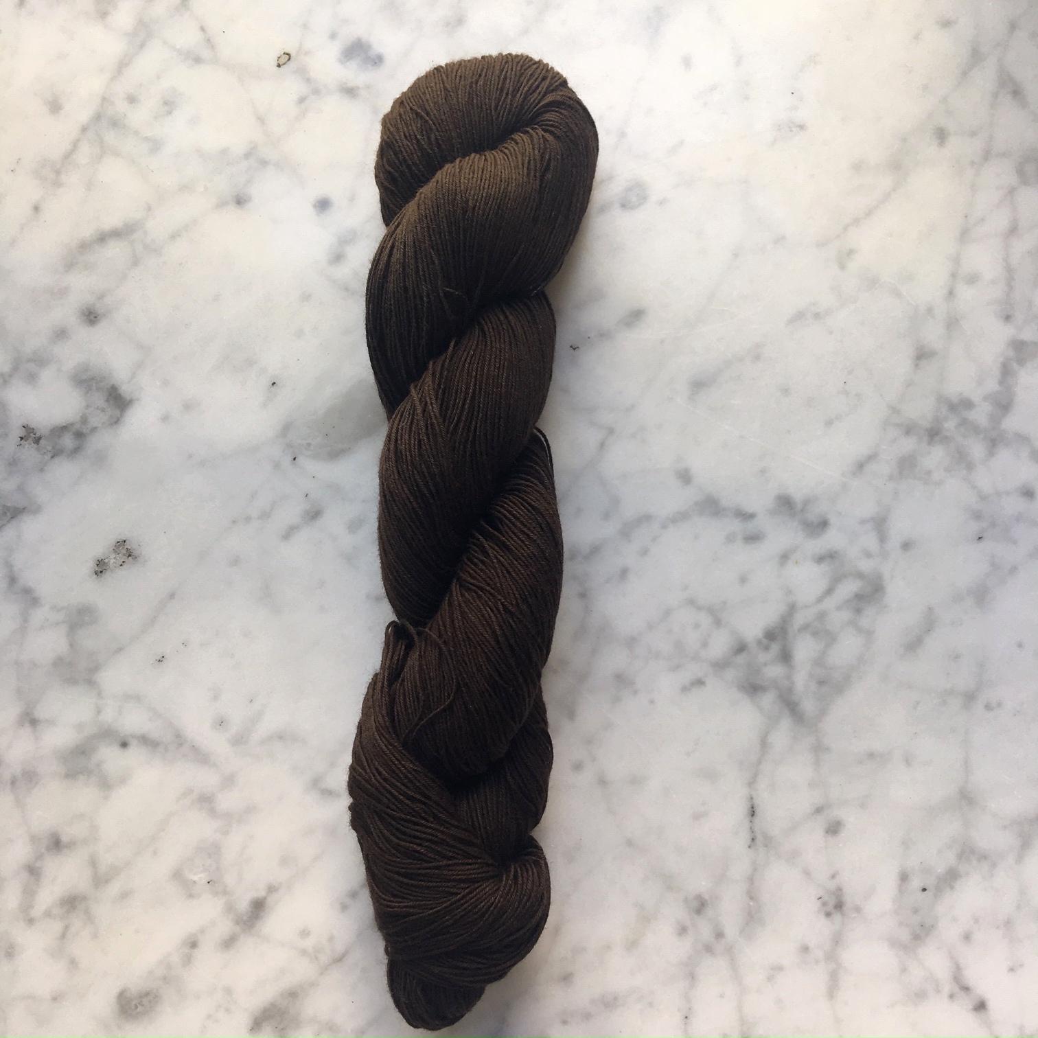 sashiko thread hida dark chocolate